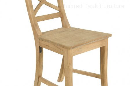 Teak chair Mariotto cross