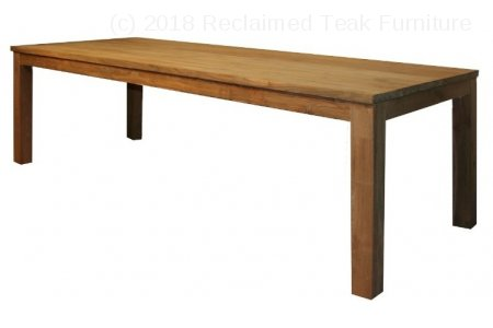 Teak table 220 x 100 cm