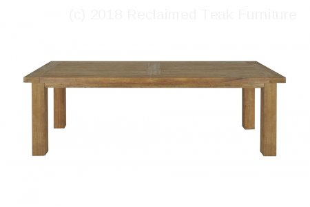 Teak table London 275x100cm