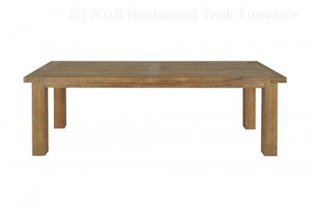 Teak table London 275x100cm