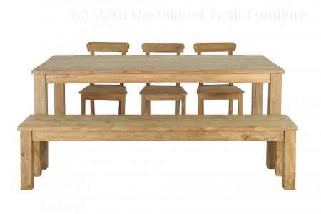 Teak table 200 x 100 cm