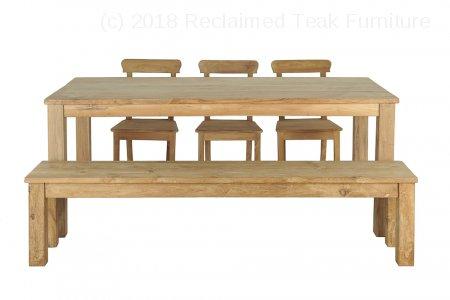 Teak table 200 x 100 cm