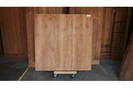 Square teak table 140x140