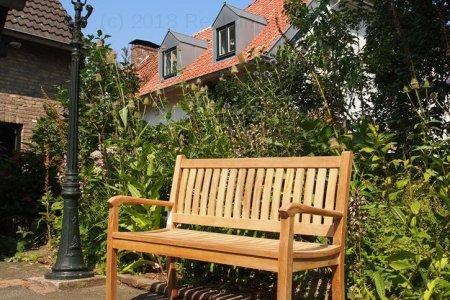 Teak garden bench 130 cm Beaufort