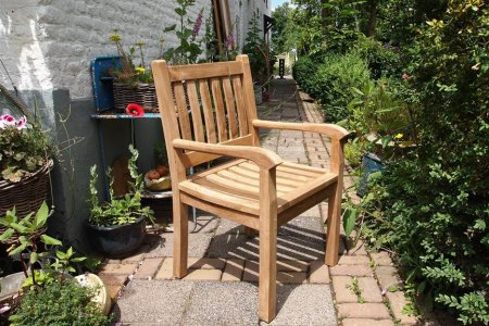 Teak garden chair Beaufort