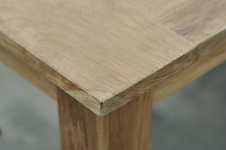 Teak garden table 350 x100