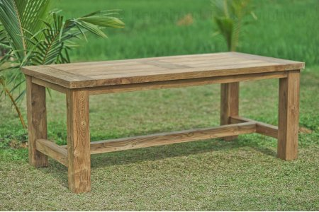 Teak garden table Mammut 250x100