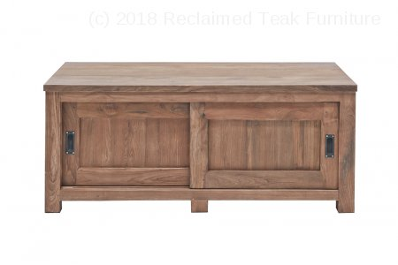 Teak tv-unit 120 x 50 x 50 cm