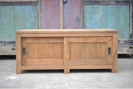 Teak tv-unit 140 x 50 x 50 cm
