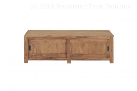 Teak tv-unit 180 x 50 x 50 cm