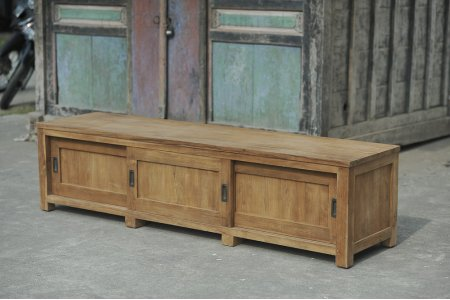 Teak tv-unit 200 x 50 x 50 cm