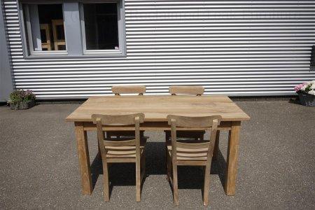 Teak table 160 x 90 cm