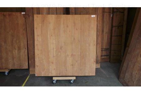 Square teak table 150x150