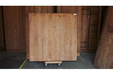 Square teak table 160x160