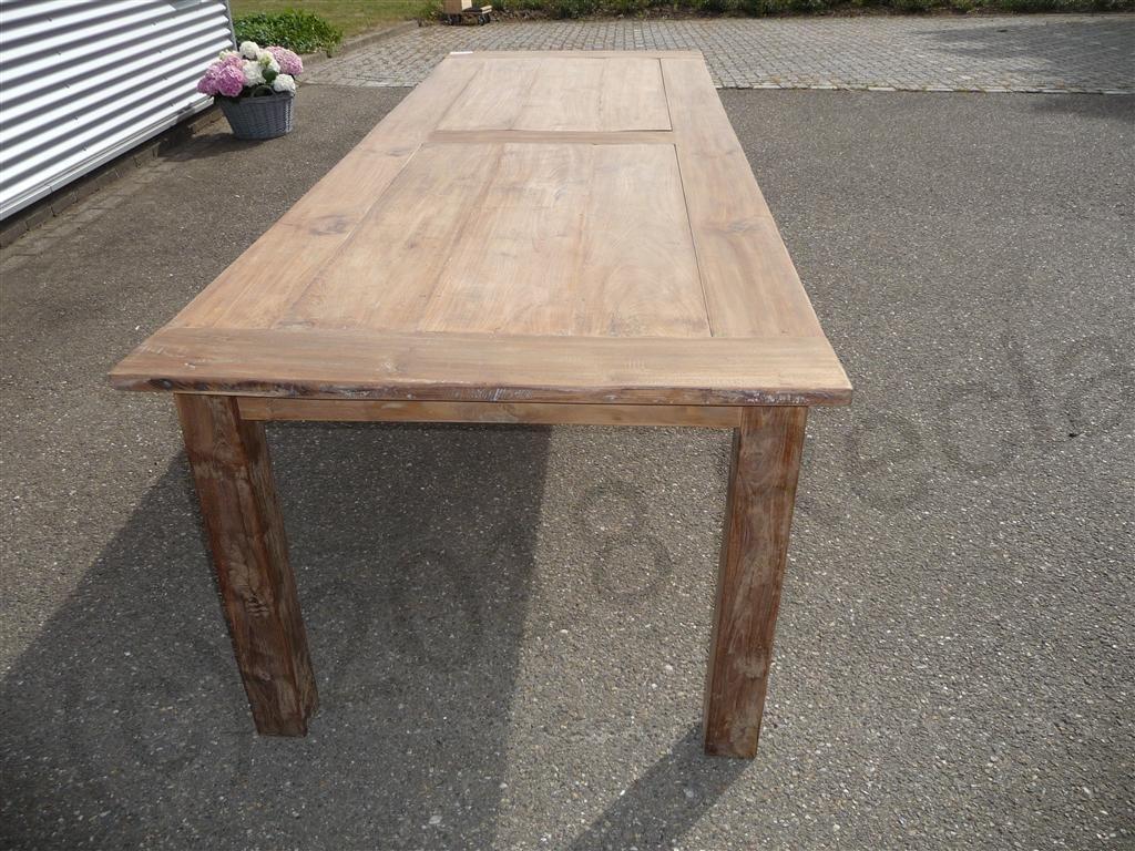 teak table 280 x 100 cm reclaimed reclaimed teak furniture. Black Bedroom Furniture Sets. Home Design Ideas