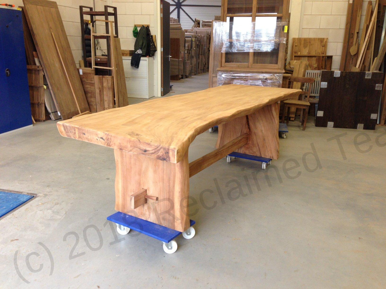 Suar Dining Table 300cm Reclaimed Teak Furniture
