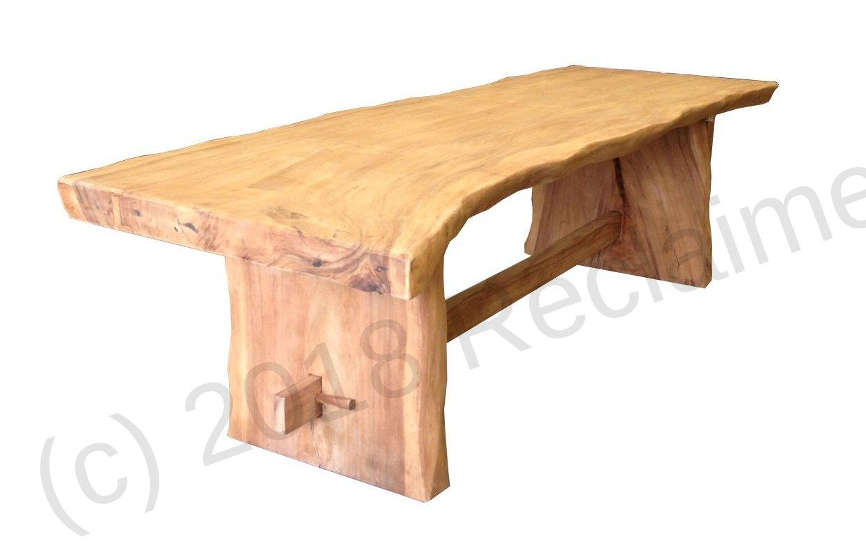 suar dining table 300cm reclaimed teak furniture. Black Bedroom Furniture Sets. Home Design Ideas