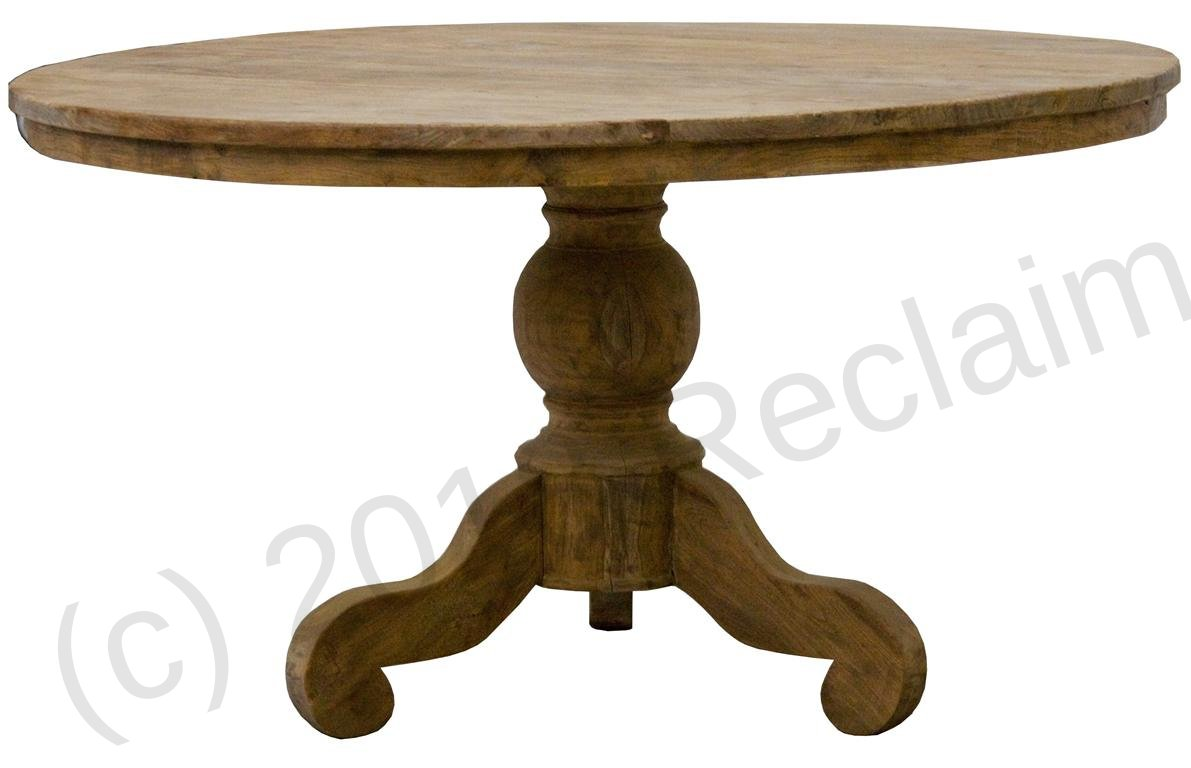 Reclaimed Teak Dining Table Round Teak Table 170 Cm Reclaimed Reclaimed Teak Furniture