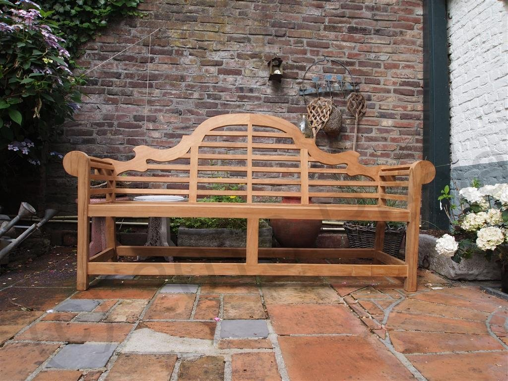Teak garden bench Luytjens | Reclaimed Teak Furniture