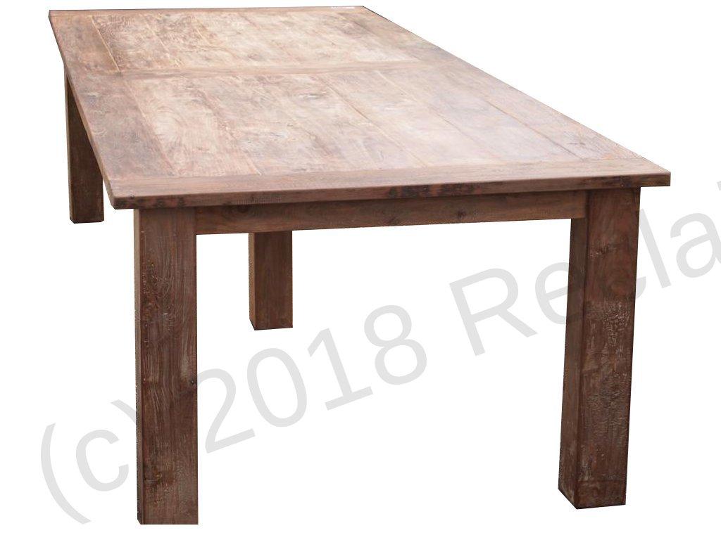 Teak table 320 x 120 cm reclaimed  Reclaimed Teak Furniture