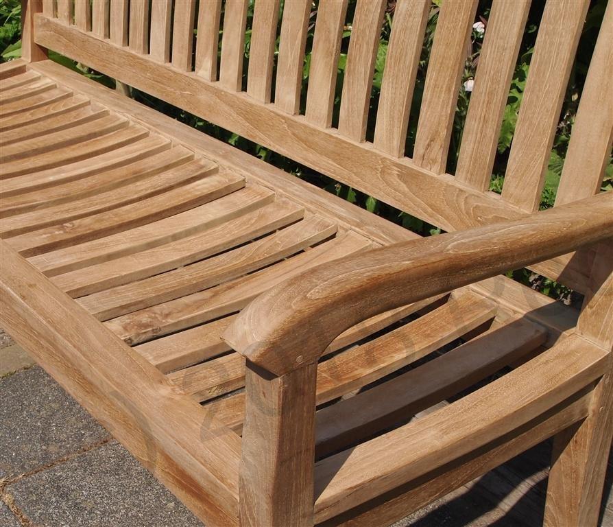 Teak Garden Bench 150 Cm Beaufort   Picture 1